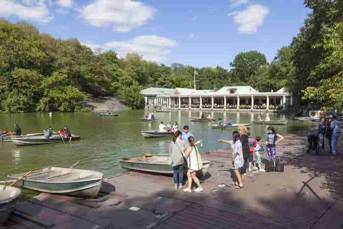 The Loeb Boathouse, Central Park