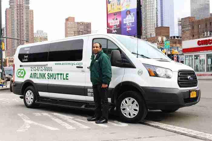 Trasferimento da Newark a Manhattan