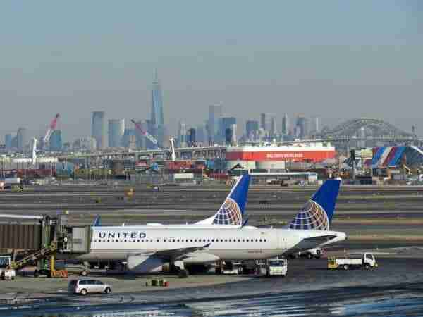 Trasferimento dall'aeroporto Newark a Manhattan