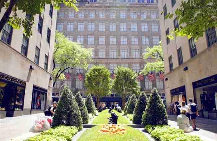 The Channel Gardens, Rockefeller Center