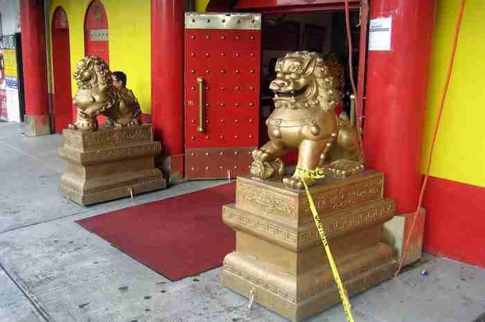 Tempio Buddista Mayana,Chinatown