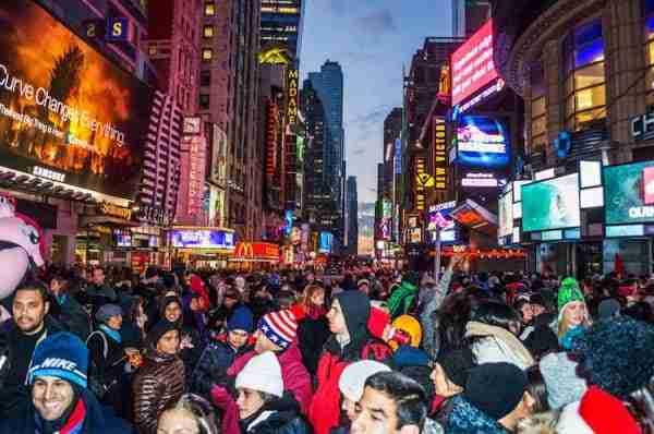 Trascorrere il Capodanno a New York in un locale