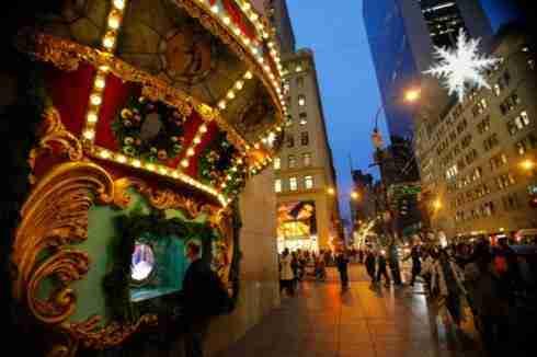 Vetrine natalizie a NYC