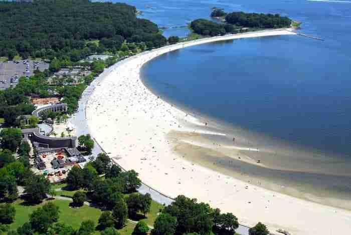 Orchard Beach, New York