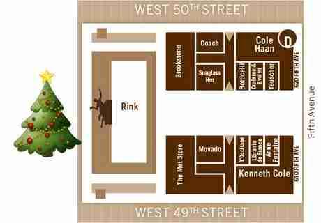Mappa del Rockefeller Center