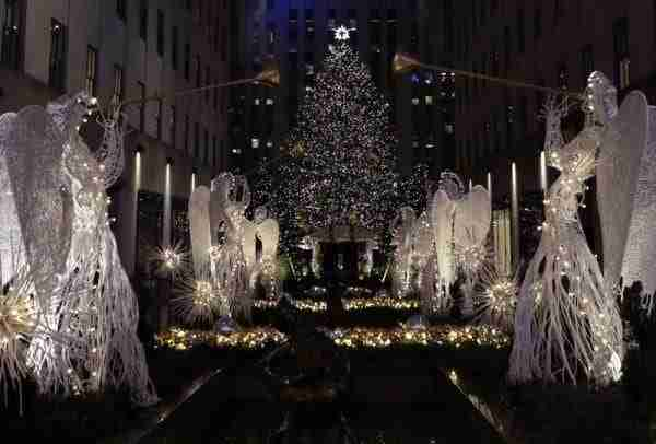 L'albero al Rockefeller Center 2016