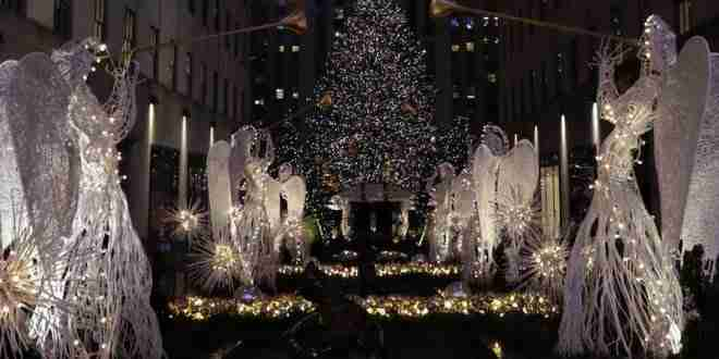 L'albero al Rockefeller Center 2016