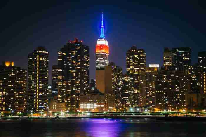 Empire State Building a San Valentino