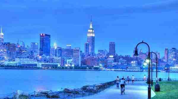 Hoboken e Manhattan