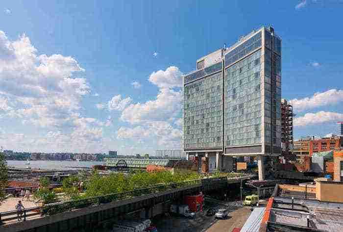Lo Standard Hotel sulla High Line