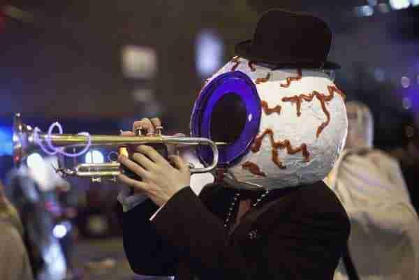 Halloween parade a New York