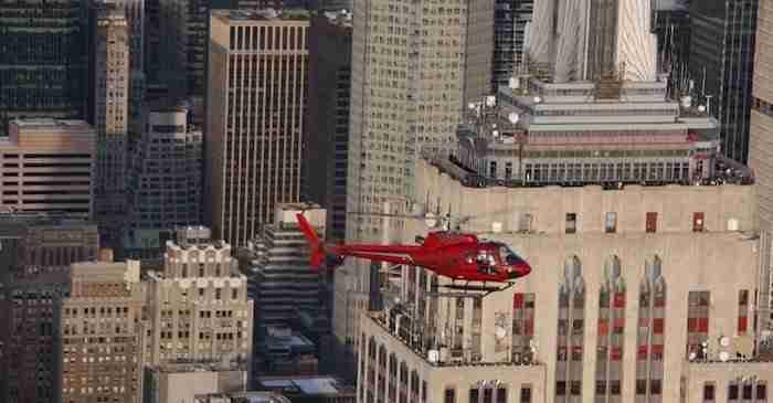 Tour di New York in elicottero e autobus
