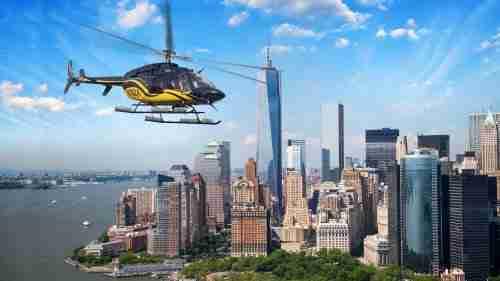 Tour in elicottero a New York