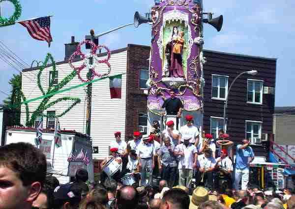 Festa San Giglio, New York