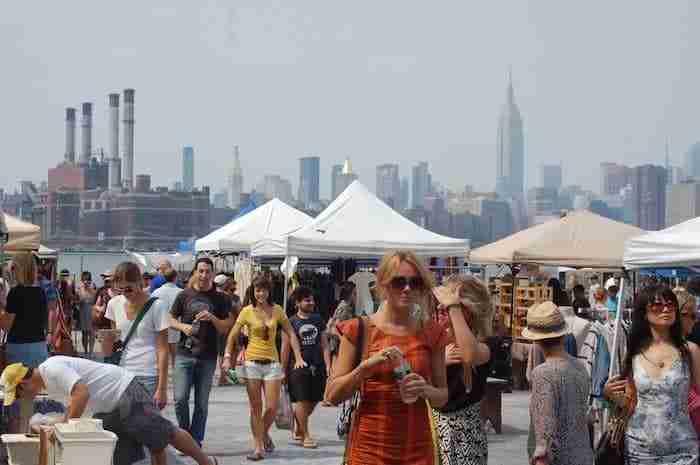 Mercatino pulci a Brooklyn