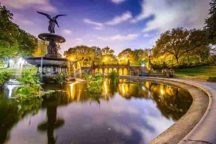 La Bethesda Fountain, Central Park
