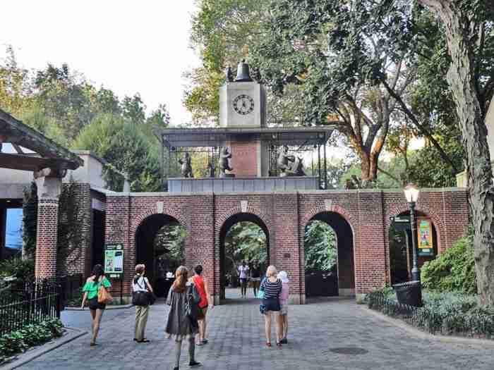 Ingresso dello zoo di Central Park