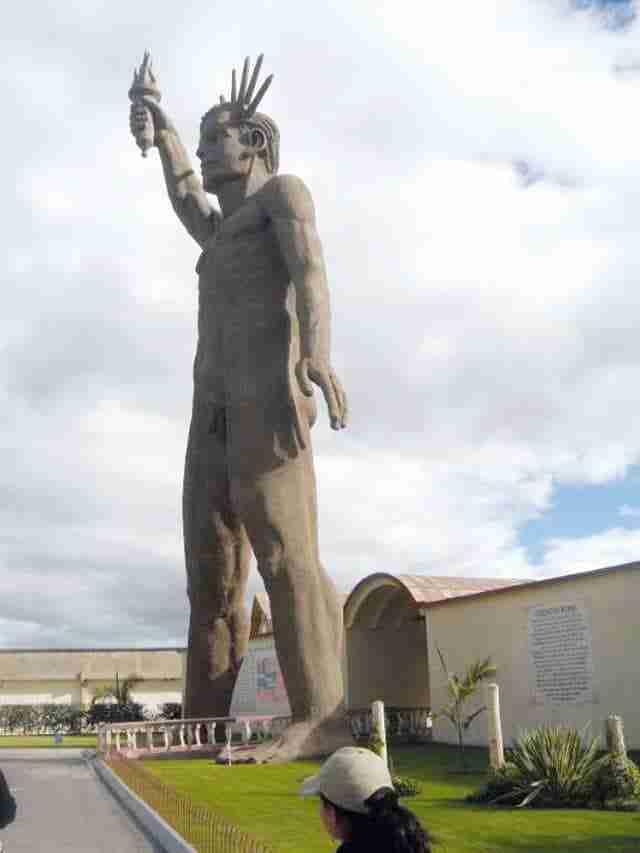 La Statua della Libertà in Colombia