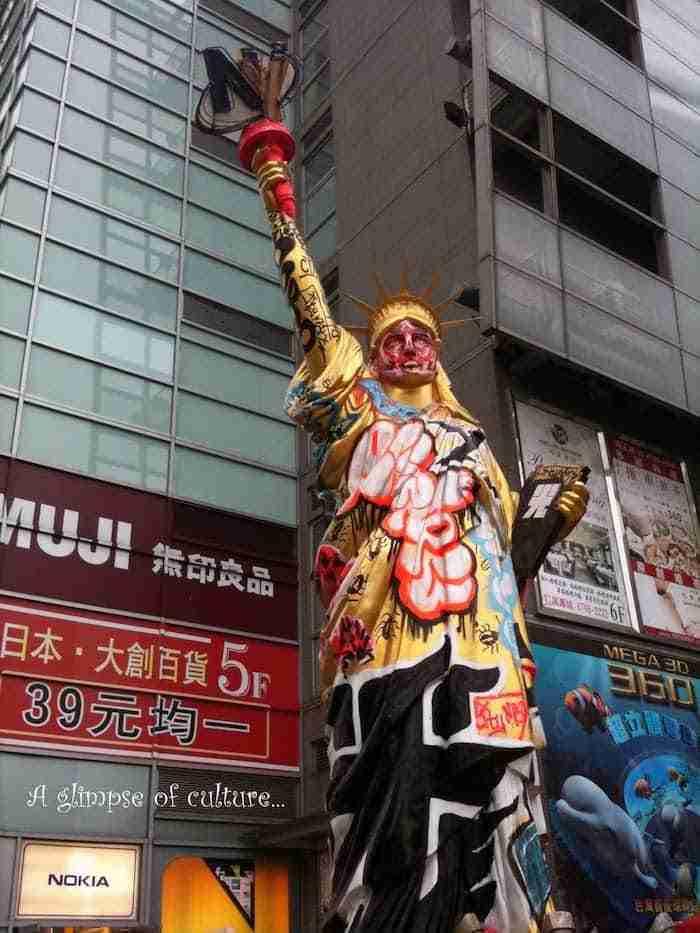 La Statua della Libertà di Taipei in Taiwan