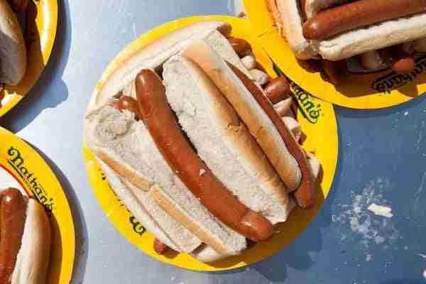 Hot Dog di Nathan's