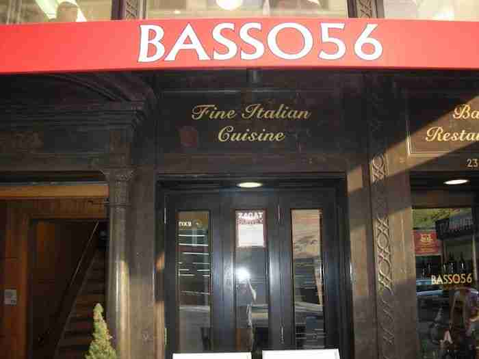 Il ristorante Basso 56