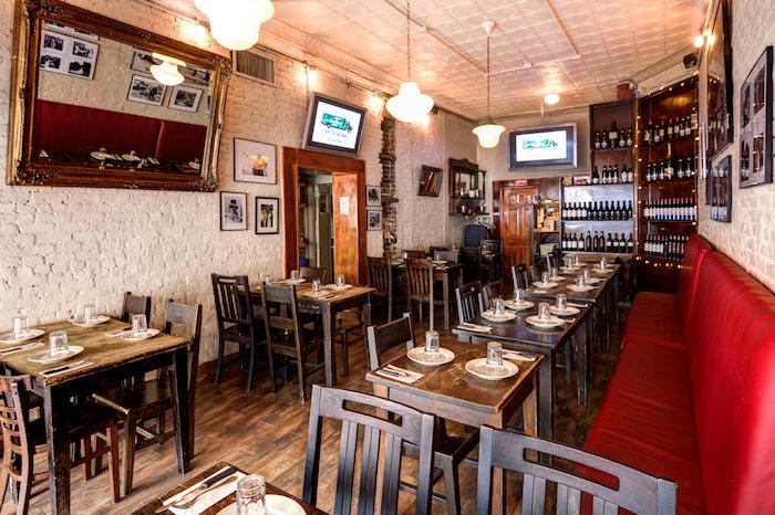 La pizzeria Numero 28 in Carmine street