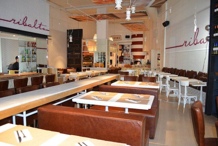 La pizzeria Ribalta