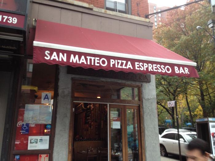 San Matteo pizza espresso bar
