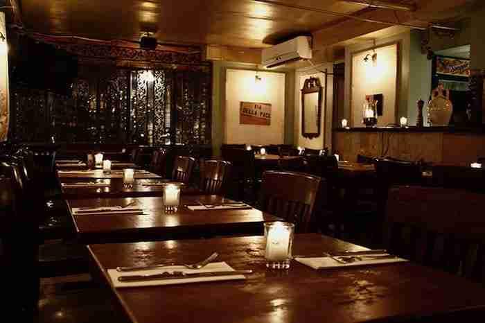 Il ristorante Via della Pace
