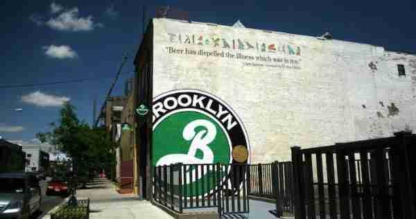 Il birrificio della Brooklyn Brewery