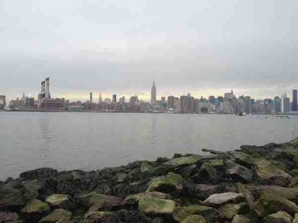 La vista dall\'East River State Park