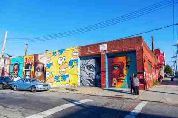 La street art a Bushwick