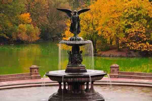 La Bethesda Fountain a Central Park