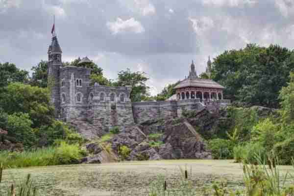 The Belvedere Castle a Central Park