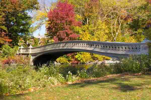 Bow Bridge, uno dei ponti più belli di Central park