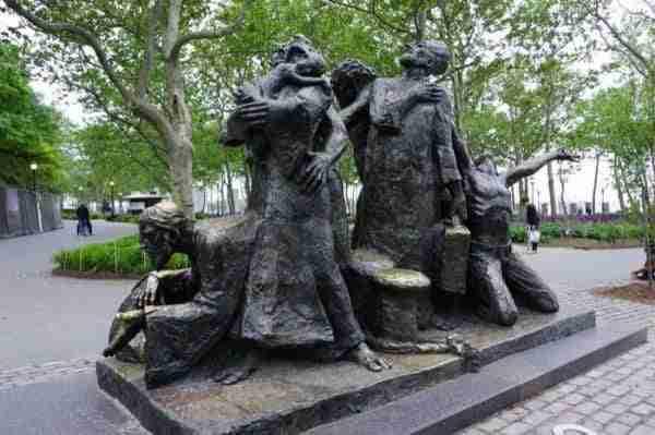 Monumento degli immigranti a Battery Park