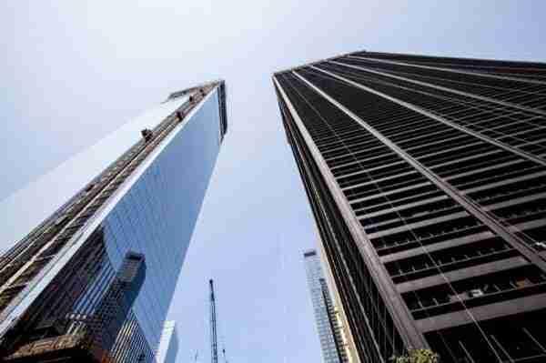 One World Trade Center in costruzione