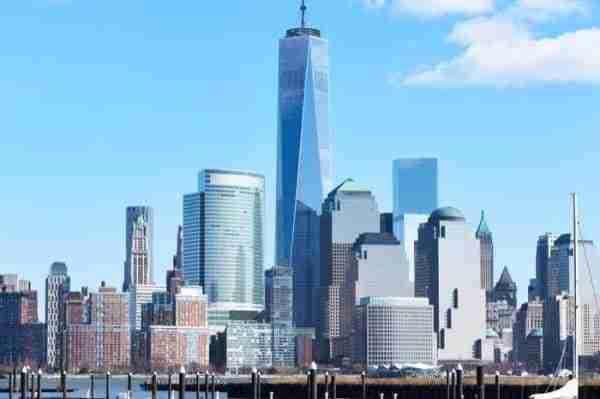 One World Trade Center visto dal New Jersey