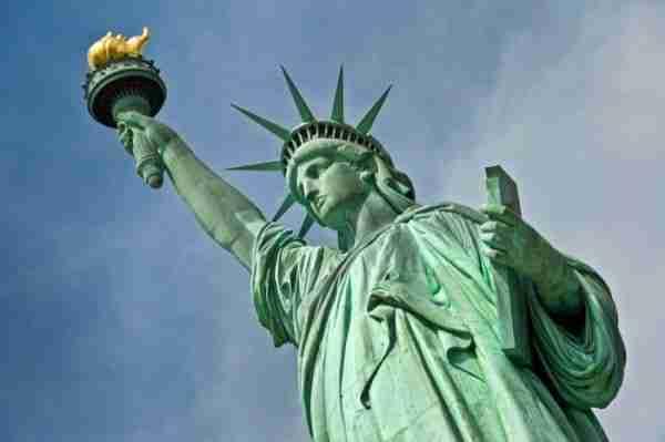 Statua della Libertà vista da vicino