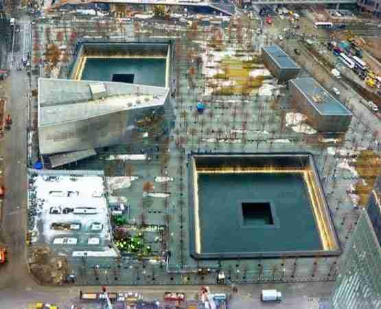 Le Vasche del Memoriale 9/11 sono situate dove si trovavano le Twin Towers