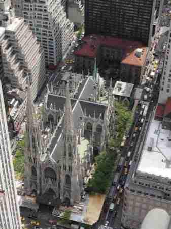 Vista dall\'alto della Cattedrale