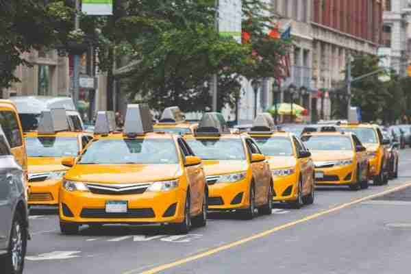 Come muoversi a New York: taxi