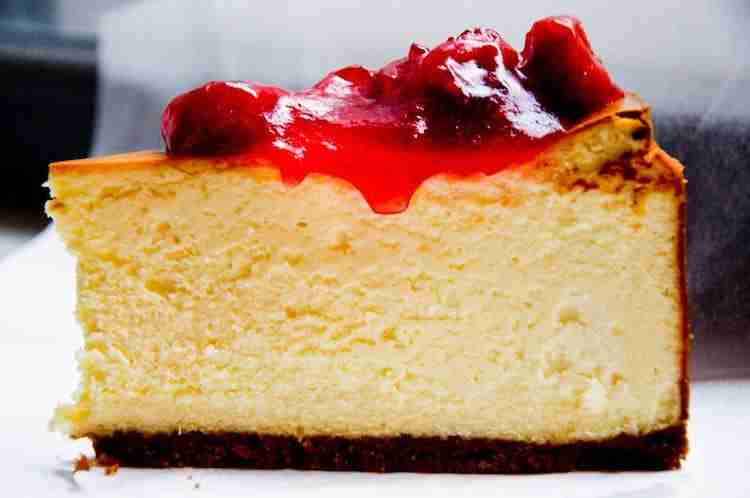 Dove mangiare la Cheesecake a New York