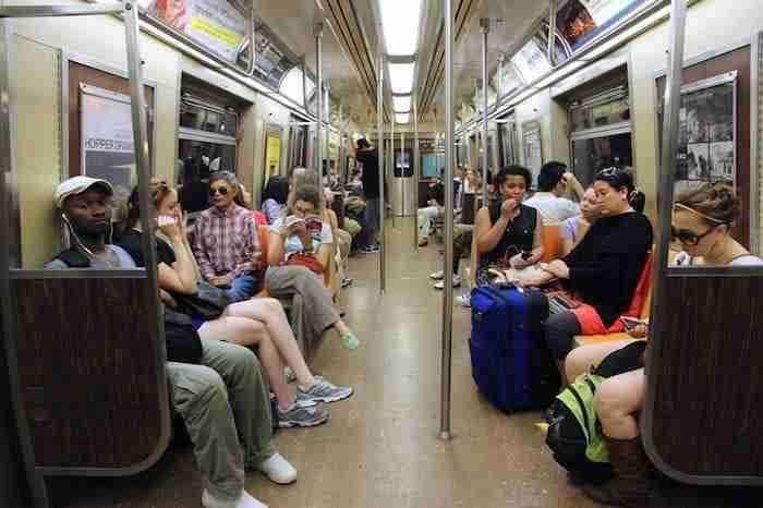 Melting pot nella metro di New York