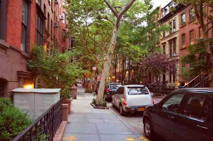 Perry st, Greenwich Village, New York