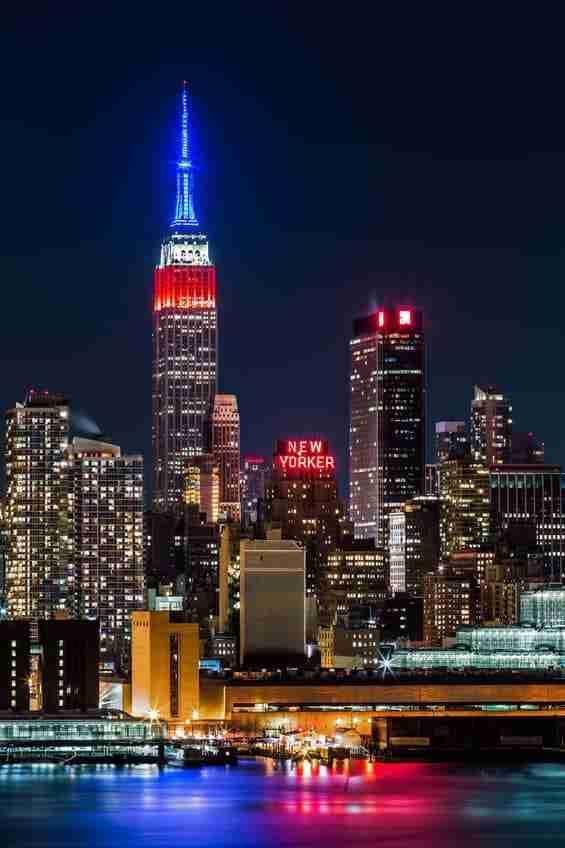 Empire State Building il 4 luglio
