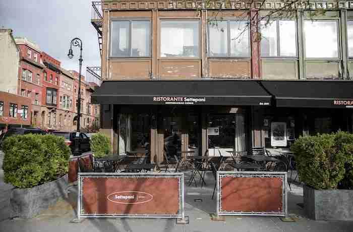 Ristorante italiano Settepani a Harlem