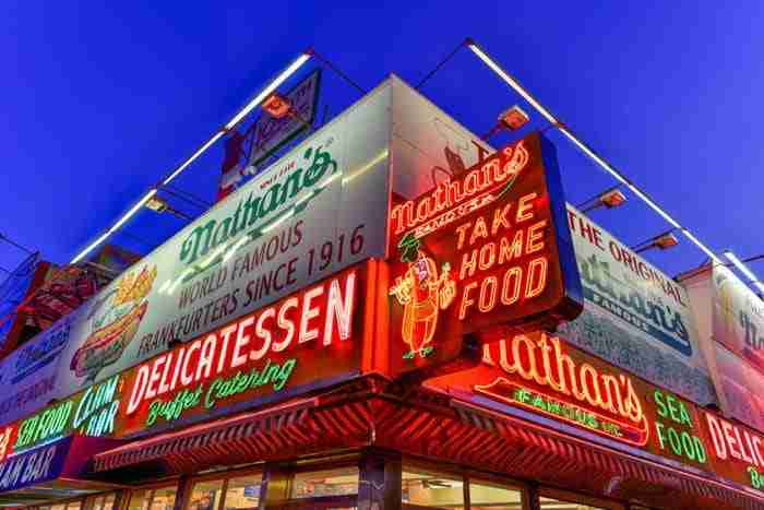 Nathan's Famous, New York