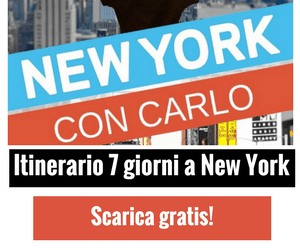 Banner New York con Carlo