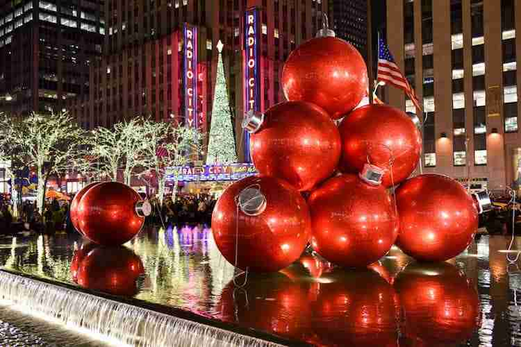 Radio City Music Hall nel periodo natalizio